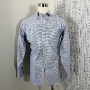 L.L. Bean Traditional Fit Button Front Dress Shirt